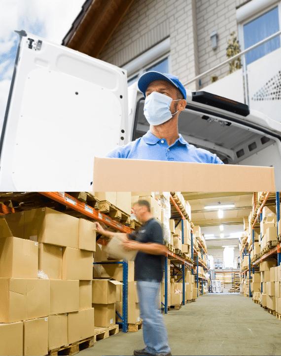 Lagerung-Sorgenfreie Umzüge-Leistungen